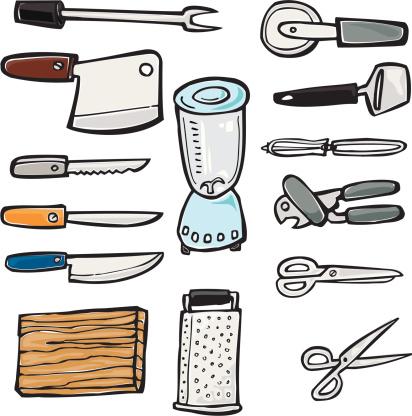 Kitchen Knives, Appliances, & Blades