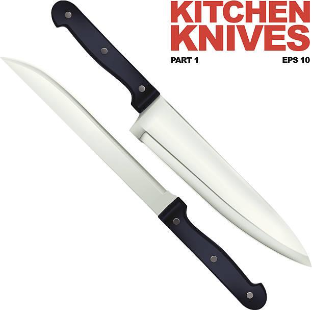 Küche Messer – Vektorgrafik