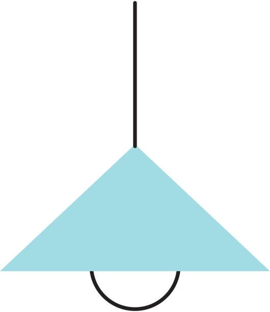 küche lampe isolierten symbol - waschküchendekorationen stock-grafiken, -clipart, -cartoons und -symbole