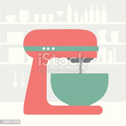 istock Kitchen machine 599912806