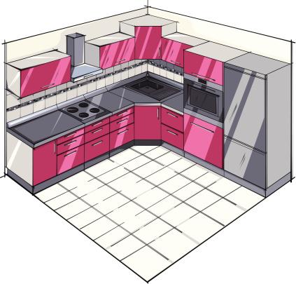 Kitchen modern.