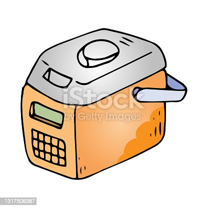 istock kitchen multicooker machine doodle 1317506387