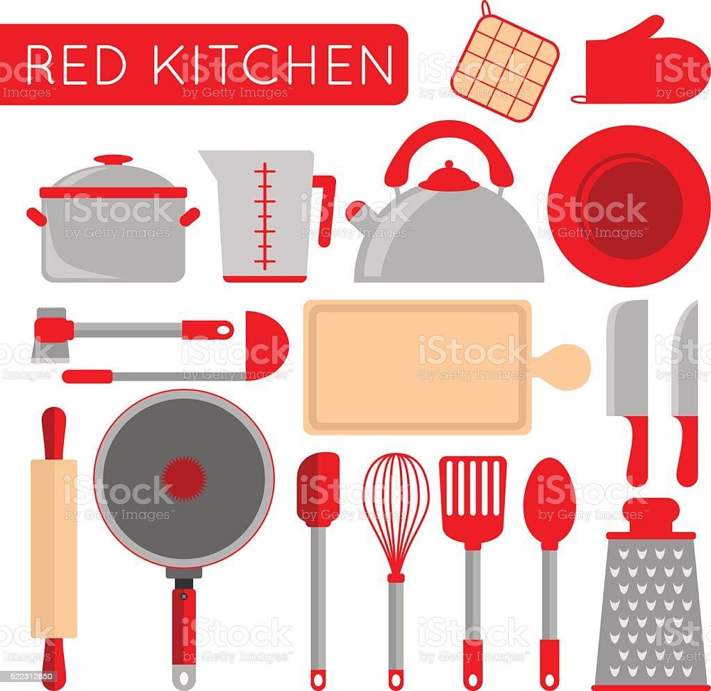 Ilustra o de cozinha objetos instrumentos para cozinhar for Instrumentos de cocina