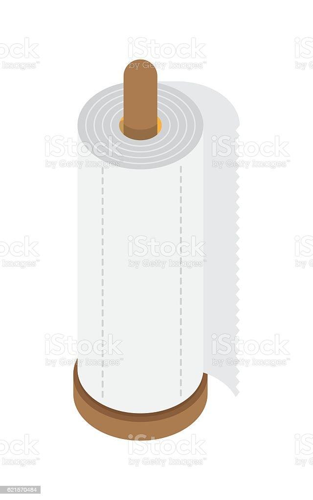 kitchen paper towel kitchen paper towel – cliparts vectoriels et plus d'images de drap libre de droits