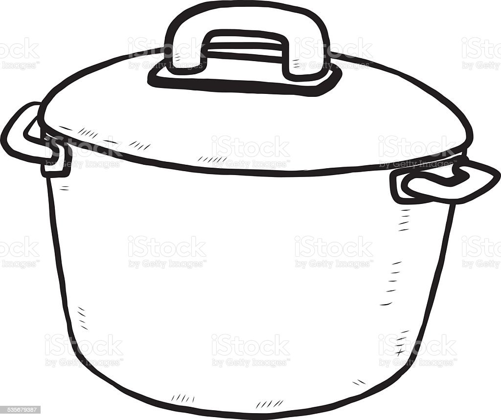 kitchen pot stock vector more images of 2015