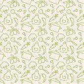 istock Kitchen seamless pattern. Vector background. 475511846