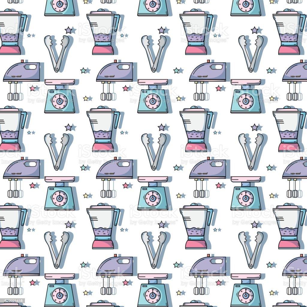 kitchen utensils background seamless kitchen utensils background decoration design royaltyfree stock vector art kitchen utensils background decoration design