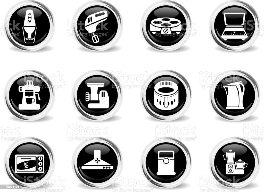 Kitchen Utensils Icon Set royalty-free kitchen utensils icon set stock vector art & more images of blender