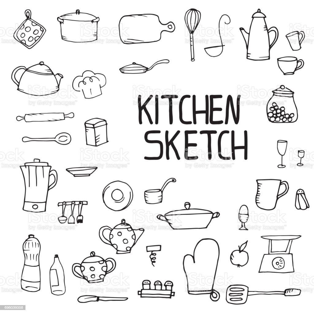 696039356 istock - Utensilios de cocina para pintar ...