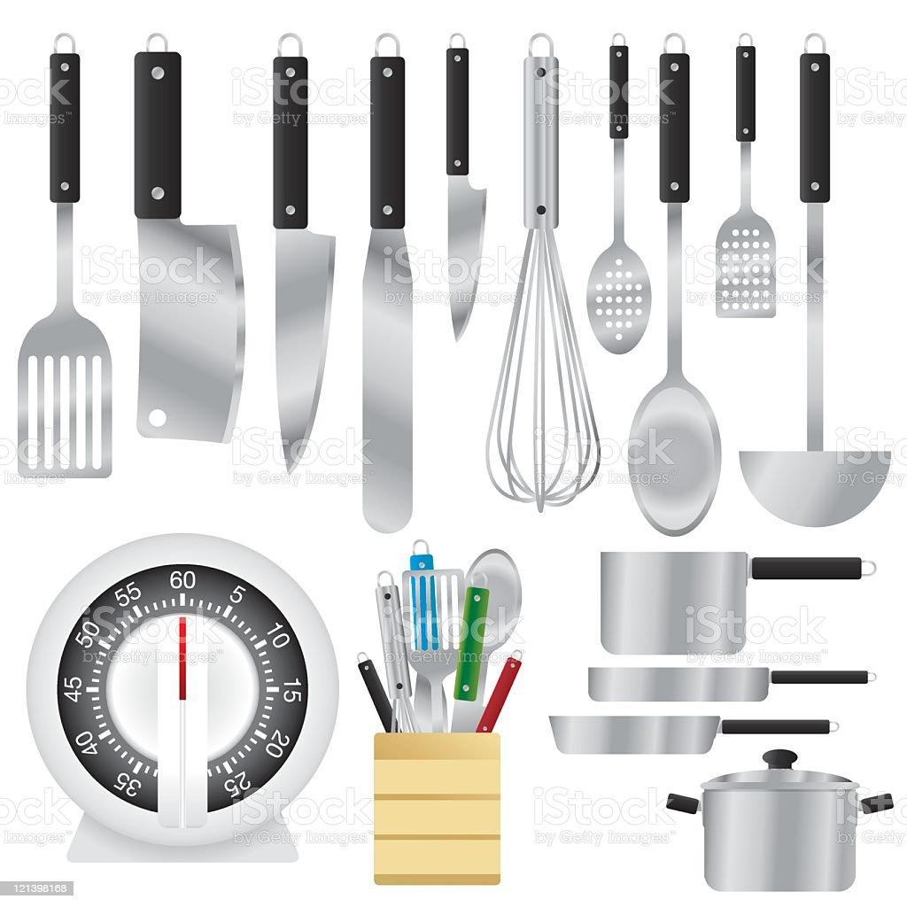 Utensilios De Cocina - Arte vectorial de stock y más imágenes de ...