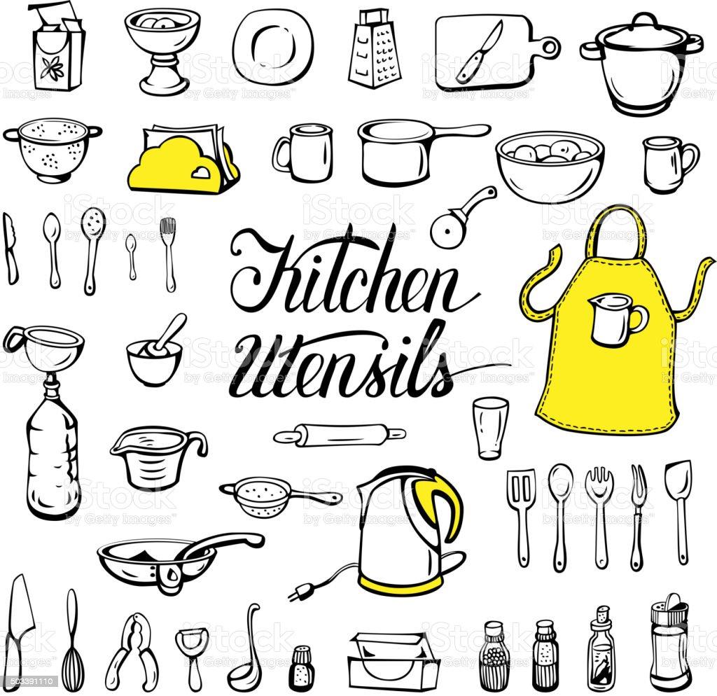 kitchen utensils vector. Kitchen Utensils Royalty-free Stock Vector Art \u0026amp; S