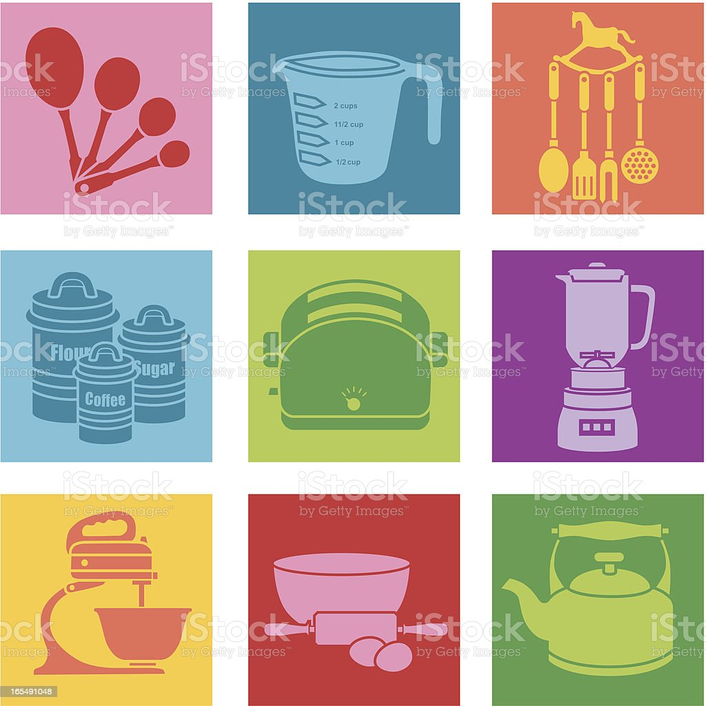 kitchen royalty-free stock vector art