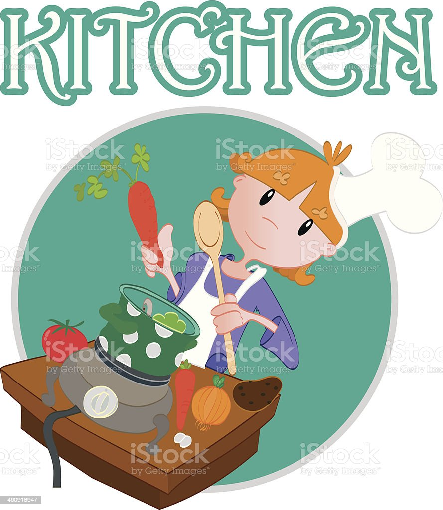 Kitchen royalty-free kitchen stock vector art & more images of anthropomorphic smiley face