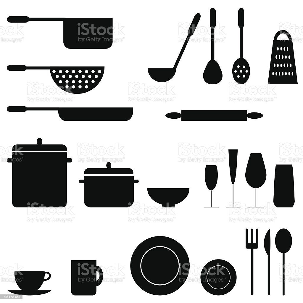Kitchenware royalty-free kitchenware stock vector art & more images of backgrounds