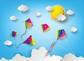 kite on sky