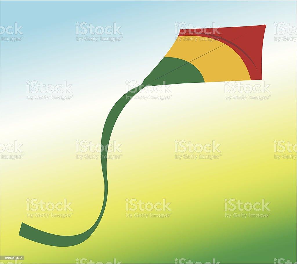 Kite royalty-free kite stock vector art & more images of beach