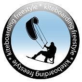 Kiteboarding Freestyle Rider Icon