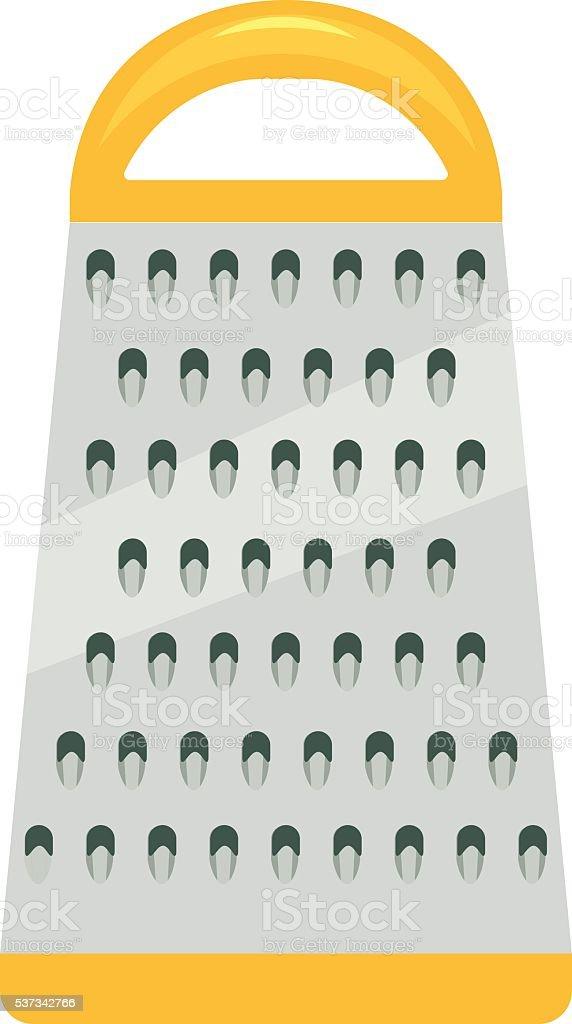 kithen grater vector illustration. vector art illustration