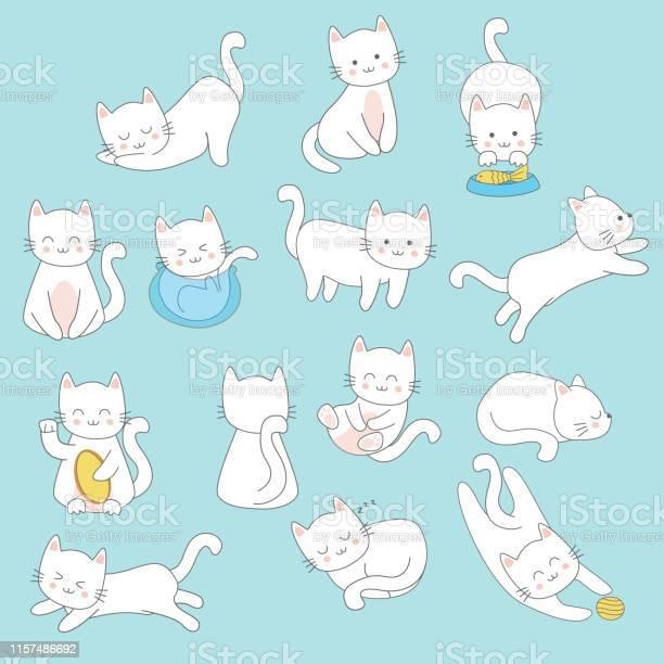 Kitten and cat hand drawn vector id1157486692?b=1&k=6&m=1157486692&s=612x612&h=yrmahf9msjtccvmgdg3ohy6ybloniwjjdnmb9aeras8=