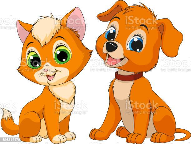 Kitten and puppy friends vector id898314476?b=1&k=6&m=898314476&s=612x612&h=8x yguifwxfkr3jgsbyvskn f1kfmfch95pw71io7ck=