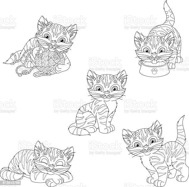 Kitten coloring page vector id613543788?b=1&k=6&m=613543788&s=612x612&h=zdmfnr0pi0gu9wlxjb2d kywup1q72hkon5qkbjguxa=