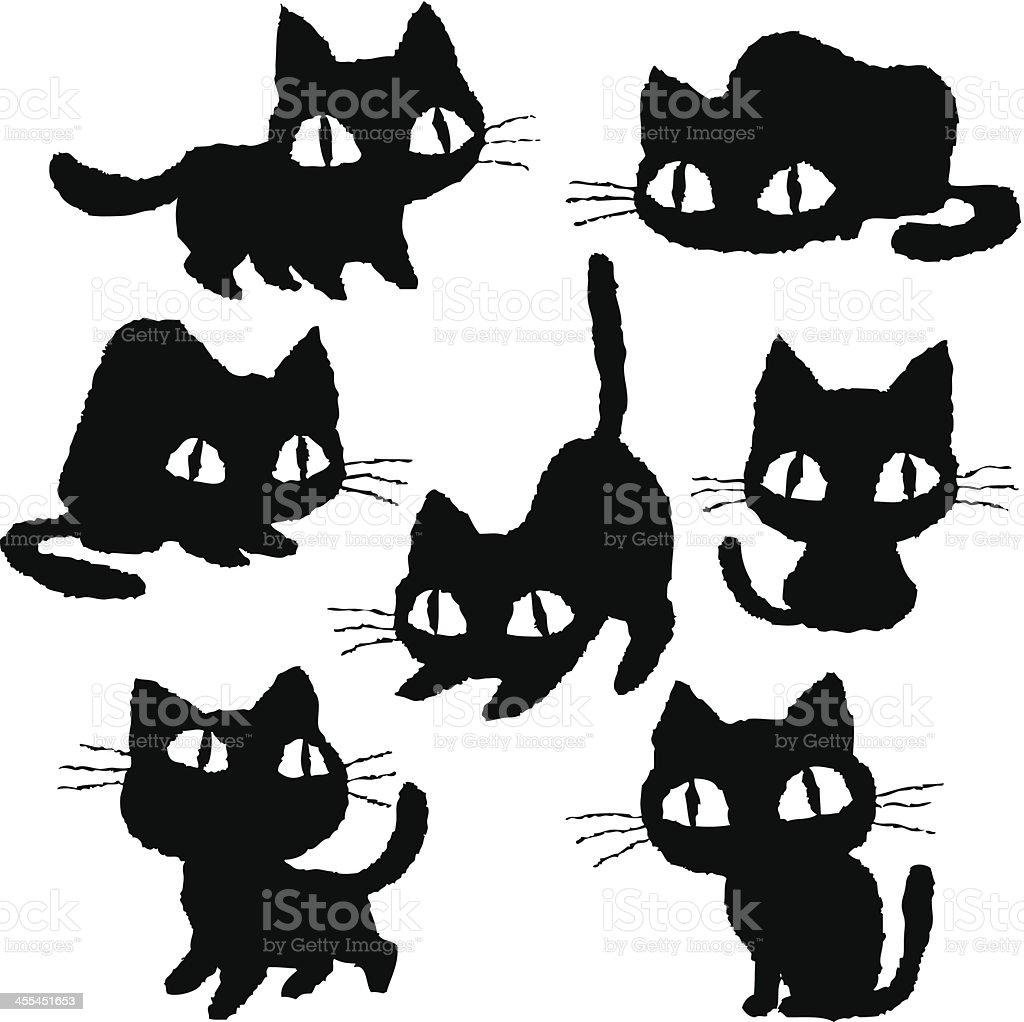 Kitten of various royalty-free kitten of various stock vector art & more images of animal