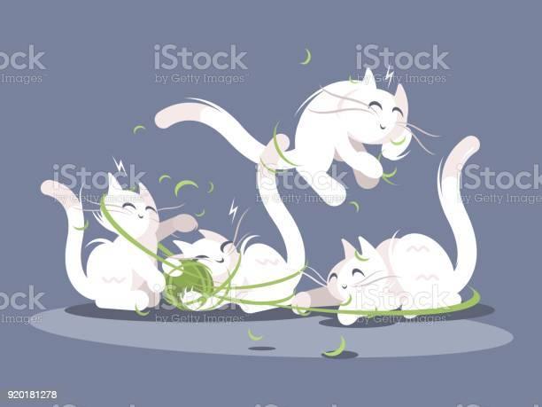 Kittens play with ball of threads vector id920181278?b=1&k=6&m=920181278&s=612x612&h=vxmkutr f86i3kzn6yaaytkheh0mpsuwlustjwa ffa=