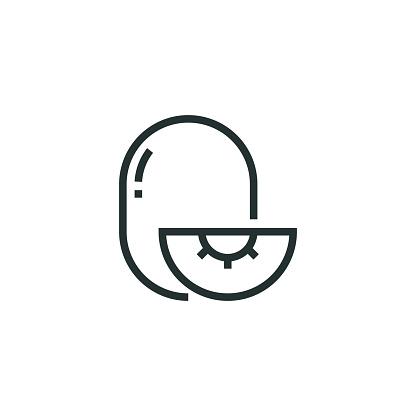Kivi Line Icon