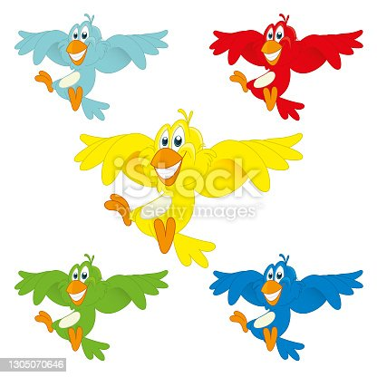 istock Kleurijke vogel 1305070646