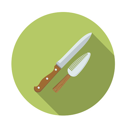 Knife And Cheese Cutter Kitchen Icon