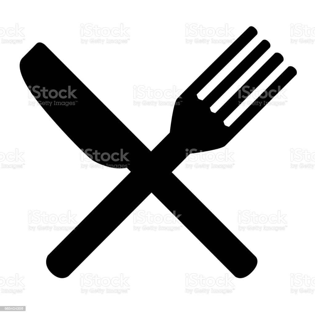 Knife and Fork for your restaurant identity knife and fork for your restaurant identity - stockowe grafiki wektorowe i więcej obrazów bankiet royalty-free