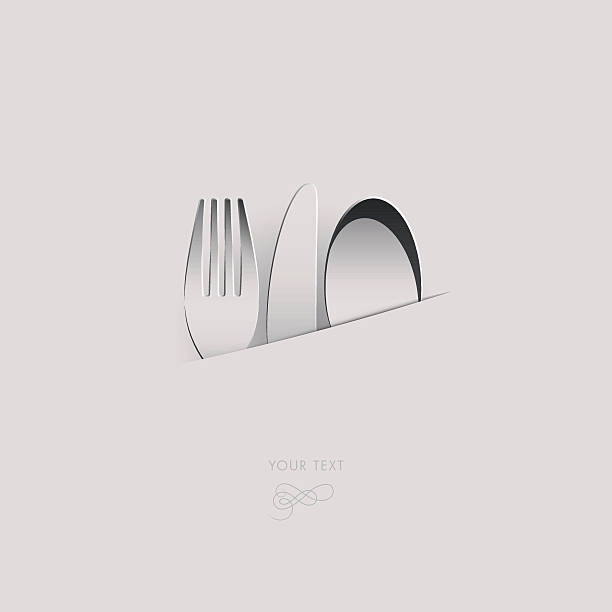 knife_fork_spoon_white – Vektorgrafik