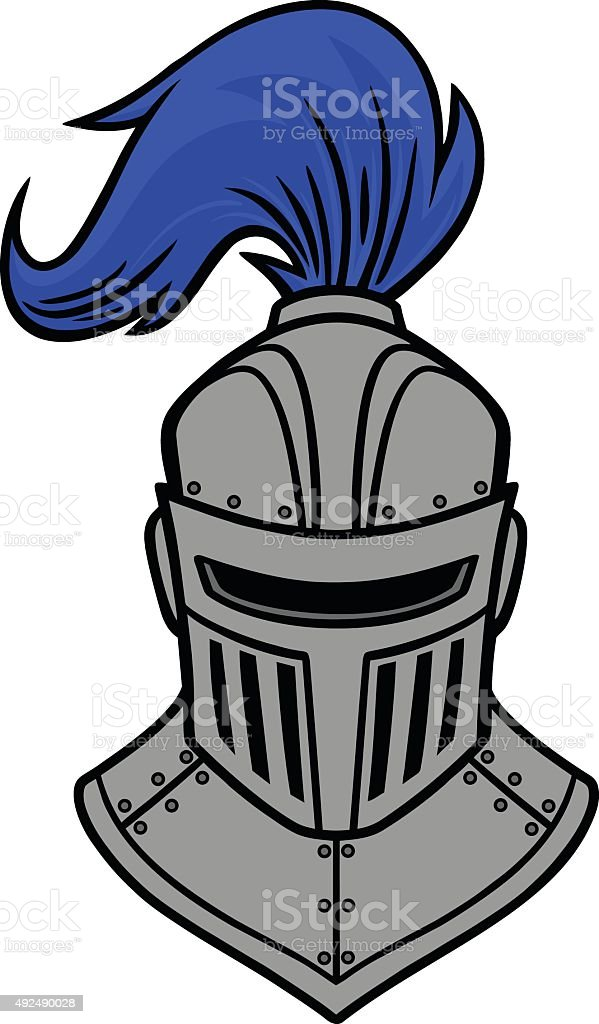 Knight Front View Stock Vector Art & More Images of 2015 ...