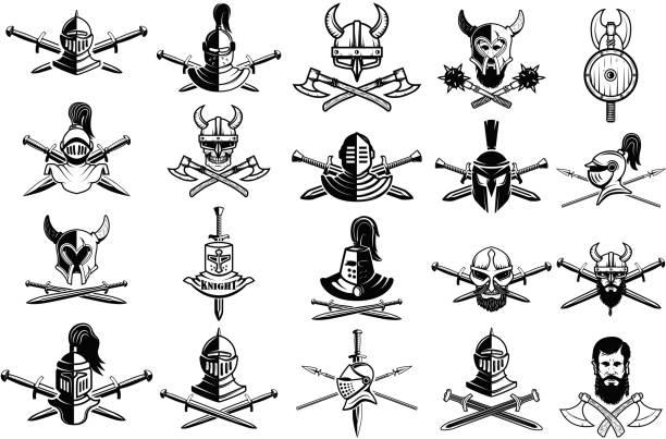 Viking Skull 163 Free Vectors To Download Freevectors