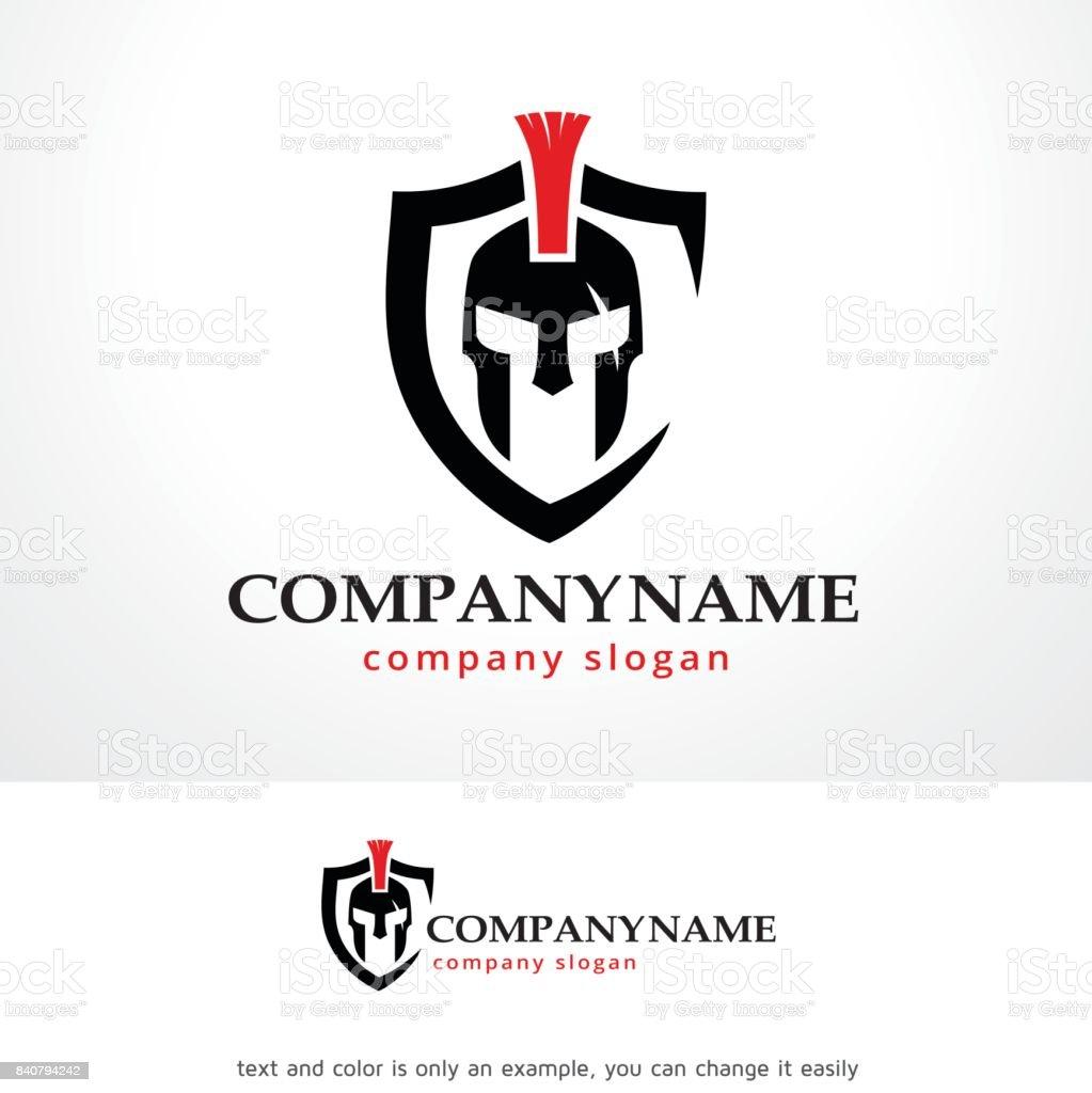 Knight Symbol Template Design Vector, Emblem, Design Concept, Creative Symbol, Icon vector art illustration