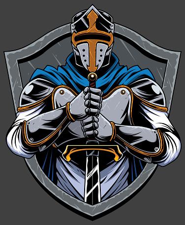Knight Templar Mascot