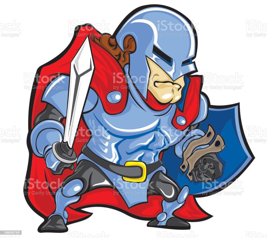 Ilustración de Knight y más banco de imágenes de Armadura - Armadura ...