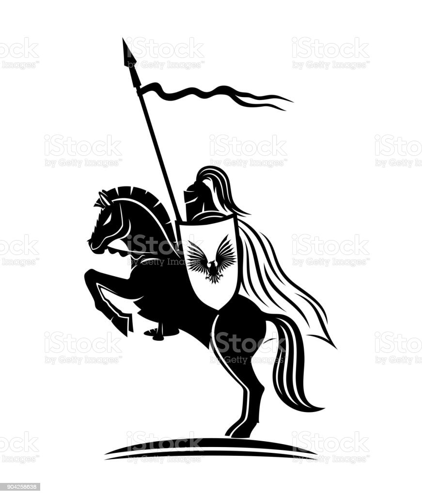 Knight with a spear.