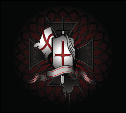 Knights Templar Placard
