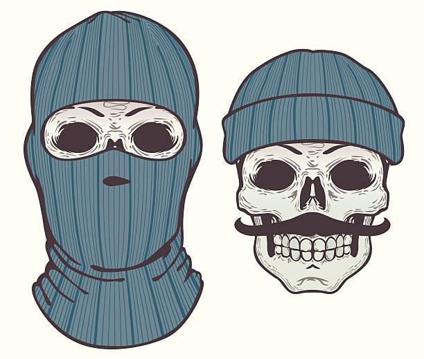 Royalty Free Balaclava Clip Art Vector Images Illustrations Istock