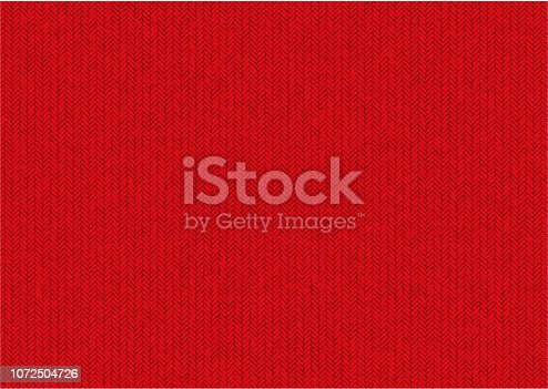 knit pattern background /red