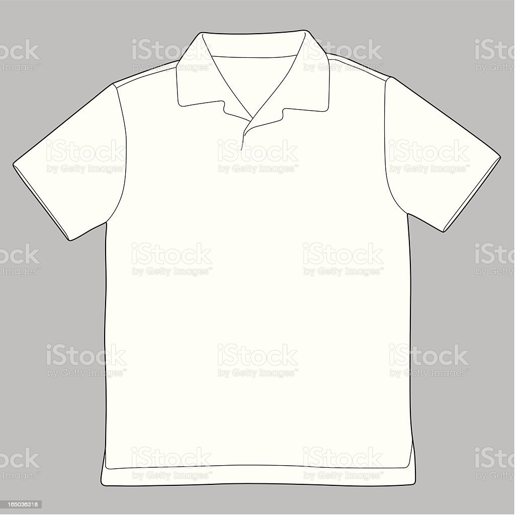 Knit Shirt royalty-free stock vector art
