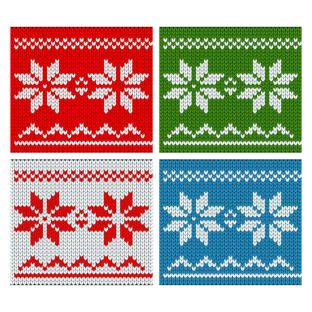 gestrickte christmass farbmuster - wollteppich stock-grafiken, -clipart, -cartoons und -symbole