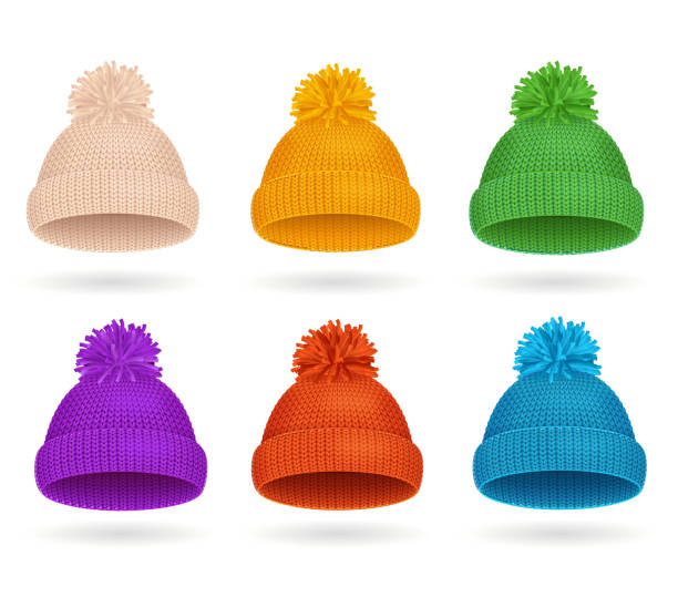 63855476cc34c1 Top 60 Knit Hat Clip Art, Vector Graphics and Illustrations - iStock