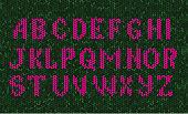 Alphabet, Art Product, Craft, Design, Sweater, Ugliness, Typescript, Knitted