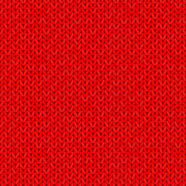 Knitting Texture Drawing : Royalty free knit texture clip art vector images