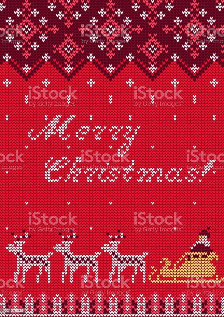 Knitted Sweater card knitted sweater card – cliparts vectoriels et plus d'images de 2017 libre de droits