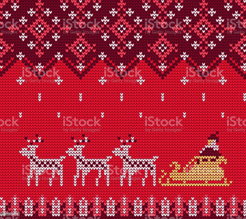 Knitted Sweater Pattern knitted sweater pattern – cliparts vectoriels et plus d'images de 2017 libre de droits