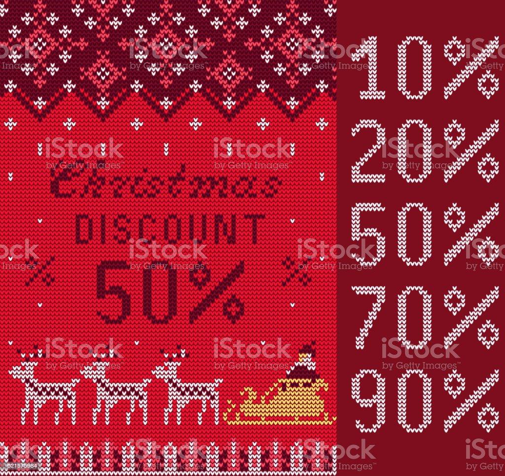 Knitted Sweater Sale knitted sweater sale – cliparts vectoriels et plus d'images de 2017 libre de droits