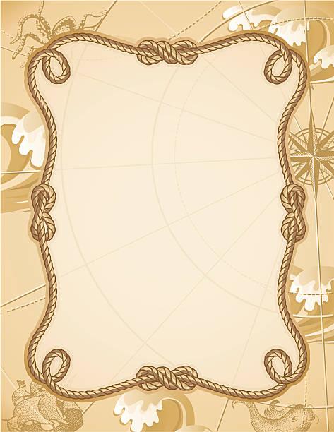 knot frame  adventure borders stock illustrations